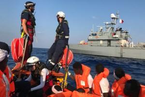 Seis países europeos recibirán a los 356 migrantes rescatados por barco humanitario