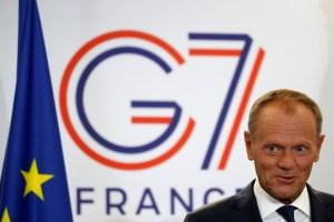 """Donald Tusk considera """"difícil de imaginar"""" acuerdo UE-Mercosur cuando la Amazonía arde"""