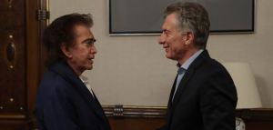 El Puma le demostró su apoyo a Macri durante su visita en Argentina (FOTOS)
