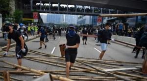 Nuevos enfrentamientos en Hong Kong entre manifestantes y policía