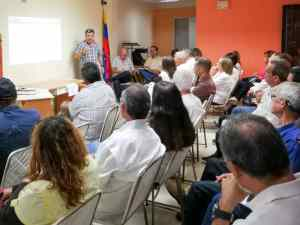 Diputado Luis Parra promovió discusión del Plan País en Yaracuy