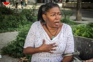 Elsa, la profesora jubilada que le grita las verdades a Aristóbulo y al régimen (Entrevista exclusiva)