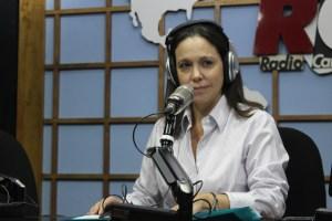 María Corina teme un desvío en la ruta del cambio tras reincorporación chavista en la AN