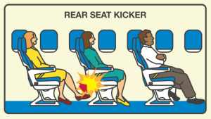 Cómo sobrevivir a los pasajeros más molestos en un avión