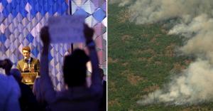 Brasil cierra la cita del clima con su imagen dañada por el fuego en Amazonía