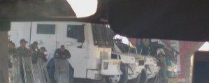 Reportan tanquetas de la GNB en el distribuidor San Blas en Carabobo #24Ago