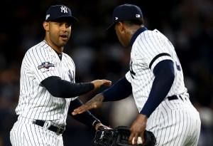 Yankees reaccionan con cuadrangulares ante Astros para seguir con vida en la serie
