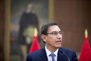 Popularidad de presidente de Perú cae a 60% en noviembre