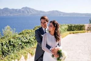 Rafael Nadal distribuye FOTOS oficiales de su boda íntima en Mallorca
