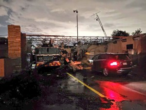 Tornado causa graves daños en Estados Unidos a su paso por Texas (Videos)