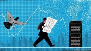 Ahora las máquinas financieras manejan el mercado bursátil