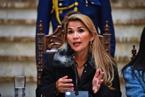 Jeanine Áñez dice que convocará muy pronto a elecciones generales en Bolivia