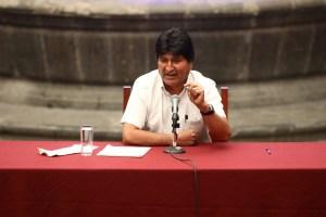 Evo Morales: Tengo mucho miedo a una guerra civil en Bolivia