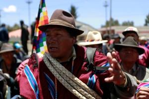 Comandante de Policía Boliviana confirma diálogo con manifestantes de El Alto