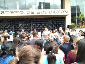 En más de 10 estados del país, se cumple el paro de maestros de 72 horas  #12Nov (fotos y video)