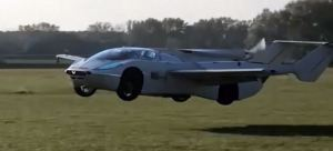 Presentan el auto volador ideal para evitar horas de tráfico (Video)