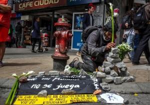 Más de 300 policías heridos durante protestas en Colombia