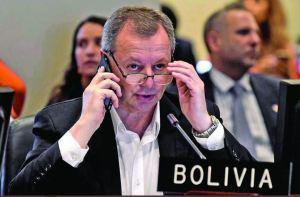 Embajador de Bolivia ante la OEA renunció a su cargo