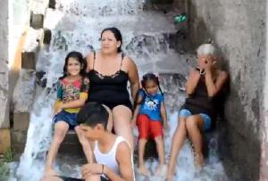 """HidroLara tiene una """"cascada"""" en Barquisimeto (video)"""