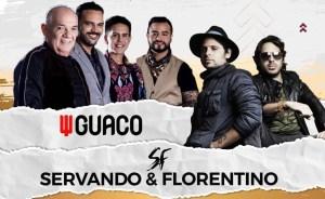¡Más de mil dólares! El precio de las entradas para ver a Guaco con Servando y Florentino