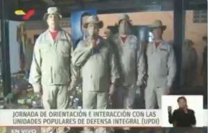 ¿Efecto reconversión? Se volvió un ocho al decir la cifra de milicianos en Carabobo (VIDEO)