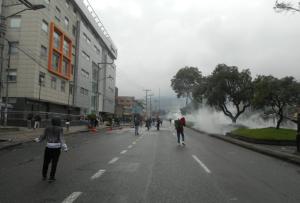 Tensión en Colombia: Inicia la represión contra las protestas en Bogotá #21Nov (fotos y videos)
