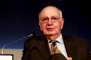 Muere Paul Volcker, expresidente de la Reserva Federal de EEUU