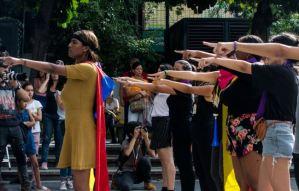"""EN FOTOS: Feministas efectuaron en Caracas la protesta """"Un violador en tu camino"""""""