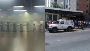 Desalojaron la estación del Metro La California por el incendio de sus transformadores (FOTOS)
