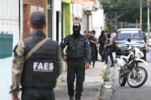 Las Faes dieron muerte a cinco sujetos en Carabobo