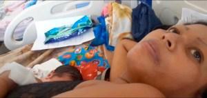 Parto en jardines del Hospital Uyapar desnuda el calvario de las parturientas