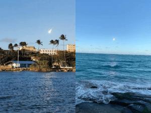 Un enorme meteoro cayó cerca de Puerto Rico (videos)