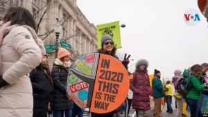 Miles marcharon en Washington para reclamar por más derechos para las mujeres (Fotos y Video)