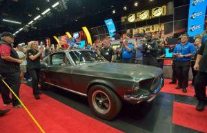 La historia del legendario Mustang que brilló en el cine y se vendió en un precio récord