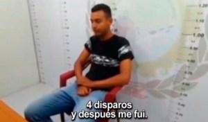La fría confesión del venezolano que asesinó a dos peruanos tras orinar en su puerta
