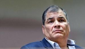 Correa presentó otro recurso ante la Corte Suprema de Ecuador por su condena a ocho años
