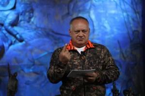 Diosdado se inventó un nuevo cuento para arremeter contra Allyson Peppe, Jimeno, Carlos Ocariz y Edward Rodríguez