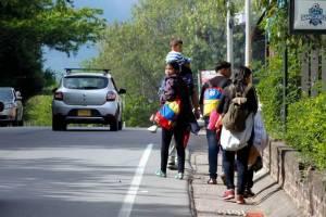 Bucaramanga afronta nuevos retos ante el éxodo de venezolanos que huyen de Maduro