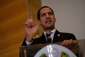Juan Guaidó: El mundo no se come el cuento de que la dictadura quiere elecciones