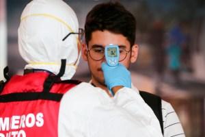 Ecuador reporta caso de extranjero con coronavirus de pronóstico reservado