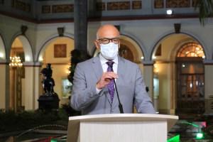 Jorge Rodríguez informó sobre 4 nuevos casos por coronavirus en Venezuela para un total de 171