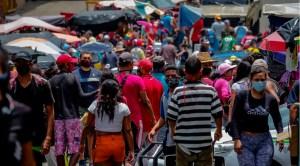 En el centro de San Félix subestiman el coronavirus y la cuarentena se flexibiliza por necesidad