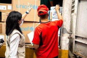 Llega a Venezuela cargamento de insumos médicos enviados por la ONU para combatir el coronavirus #8Abr (FOTO)
