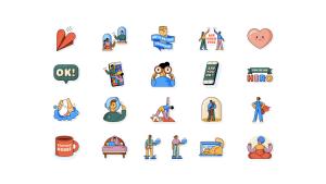 """WhatsApp lanza nuevos """"stickers"""" para conectarse durante la pandemia"""