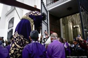 El Nazareno de San Pablo retornó a su Basílica tras repartir bendiciones en Caracas (FOTOS)