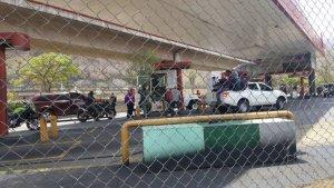 Por gasolina: El Nazareno de San Pablo se quedó varado en Antímano #8Abr (VIDEO)
