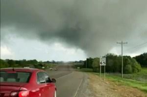 Los tornados arrasan Oklahoma y Texas
