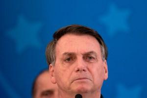 """Es horrible"", dijo Bolsonaro harto de la cuarentena por coronavirus"