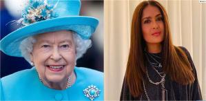 ¡Confirmado! Salma Hayek es más rica que la reina Isabel II
