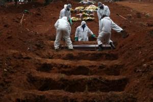 Brasil se acerca a las 157 mil muertes relacionadas con el Covid-19
